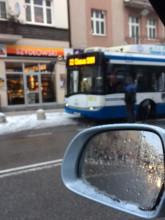 Pijani mężczyźni zatrzymali autobus w Gdyni