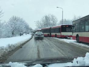 Autobusy blokują Jaśkową Dolinę