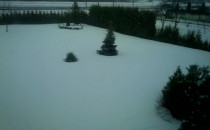 Znowu sniezyca. Przd chwila skończyłem...