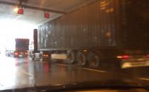 Zamknięty jeden pas w tunelu pod Martwą Wisłą