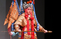 Chiński operowy show na Święto Wiosny