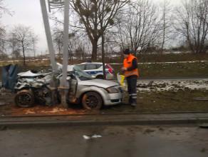 Śmiertelny wypadek na Drodze Gdyńskiej
