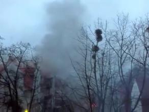 Pożar domu w Oliwie przy Polanki