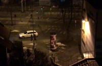 Zatrzymanie policyjnym BMW serii 5