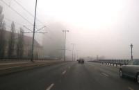 Poranna mgła nad Gdańskiem