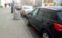 Auta blokują kontrapas rowerowy na...