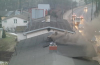 Taki dym widzę codziennie z mojego okna