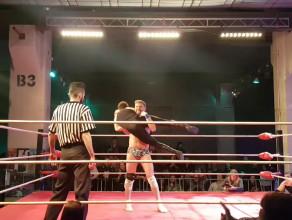 Wrestling podczas festiwalu Szlamfest w B90