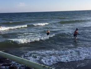 Gdyńskie Morsy w akcji
