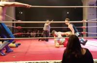 Gala wrestlingu podczas festiwalu Szlamfest