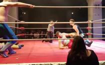 Gala wrestlingu podczas festiwalu...