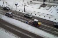Takie pługi na drogach Gdyni