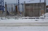 Budowa Forum Gdańsk trwa mimo mrozu