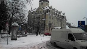Sopot cały w śniegu