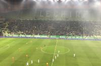 Radość po drugim golu Marco Paixao z Jagiellonią