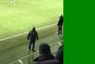 Incydent podczas meczu Arka Gdynia - Legia Warszawa
