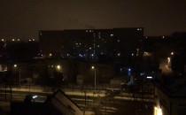 Policyjna obława przy ul. Szarej w...