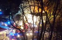 Trwa nadal akcja ratownicza przy Traugutta w Sopocie