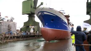 Wodowanie statku B-696 Voyager