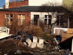 Opuszczony budynek w centrum Wrzeszcza