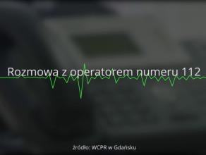 Posłuchaj jak operator numeru 112 ratuje życie dziecku