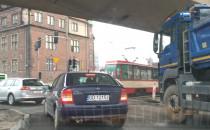 Ciasno w centrum Gdańska
