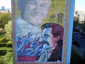 Zaspa - dzielnica murali