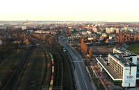 Gdańsk z lotu ptaka w wersji Night & Day