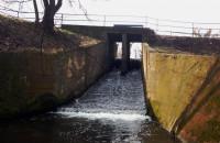 Odbudowana zapora na zbiorniku Subisława