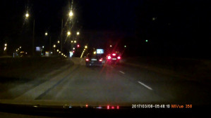 Kierowca z Ostródy przejeżdża na czerwonym
