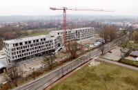 Budowa hotelu przy Bitwy pod Płowcami