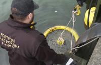 Akcja usuwania wycieku ropy na Martwej Wiśle