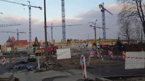 Forum Gdańsk  zasłoni wkrótce ten widok