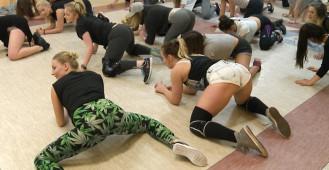 Warsztaty twerkingu w gdyńskiej sali YMCA