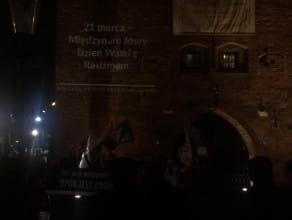 Protest w Gdańsku przeciwko rasizmowi