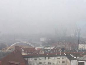 Stocznie we mgle