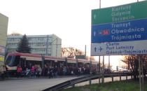 Utrudnienia w ruchu tramwajów w stronę Chełmu