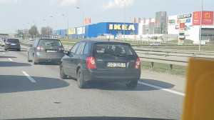 Korek na obwodnicy w kierunku Gdyni