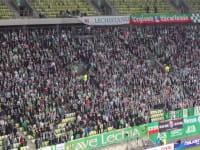 Doping dla Lechii Gdańsk w meczu z Zagłębiem Lubin