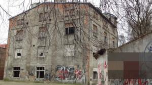 Opuszczone budynki we Wrzeszczu