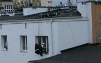 Akcja ratunkowa straży pożarnej w Gdyni
