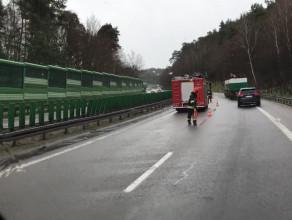 Wypadek pomiędzy Chylonią a estakadą