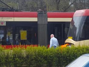 Paraliż w ruchu tramwajów w centrum Gdańska