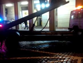 Wieczorna akcja straży miejskiej