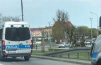 Policja jedzie na mecz Lechia - Arka
