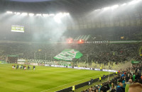 Kibice dziękują piłkarzom Lechii