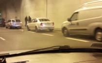 Stłuczka w tunelu pod Martwą Wisłą