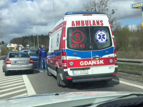 Wypadek na węźle Osowa