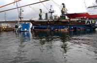 Wypadek w stoczni Nauta