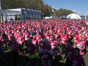 Bieg przeszło tysiąca kobiet w Gdyni